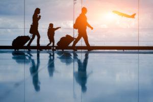 travelling children